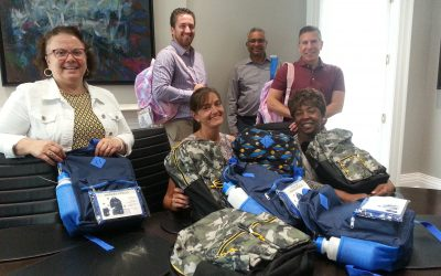 Start2Finish backpack drive for local children in need