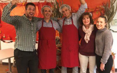 KJH Cares team volunteers atWoodGreenCommunity Services
