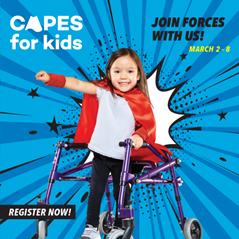 KJH Cares sponsors Holland Bloorview'sCapesfor Kids